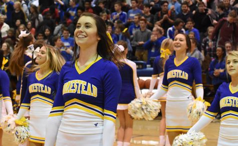 Pep Rally celebrates winter teams