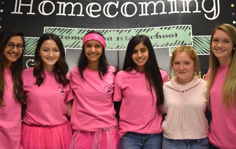 Pink-out wraps up Homecoming spirit week