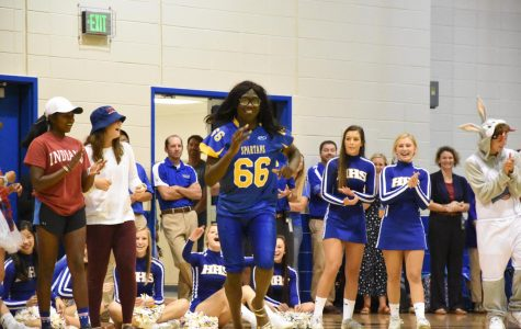Homecoming Pep Session